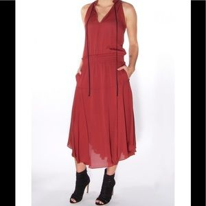 "Burgundy ALC ""Lewis"" dress"